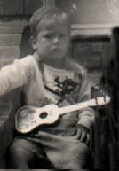 Arthur Neilson's first guitar...